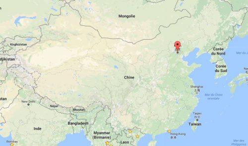 Carte Pékin