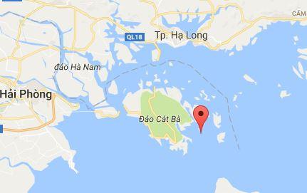 Carte Baie de Lan Ha