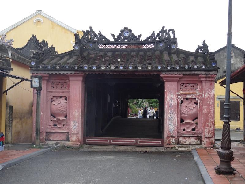 Pont de Hoi An au Vietnam
