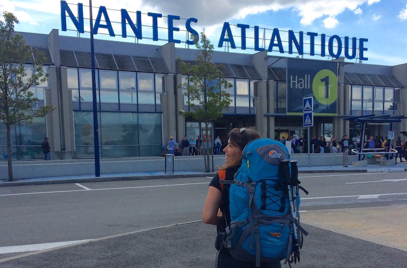 Départ en Tour du monde depuis l'aéroport Nantes-Atlantique