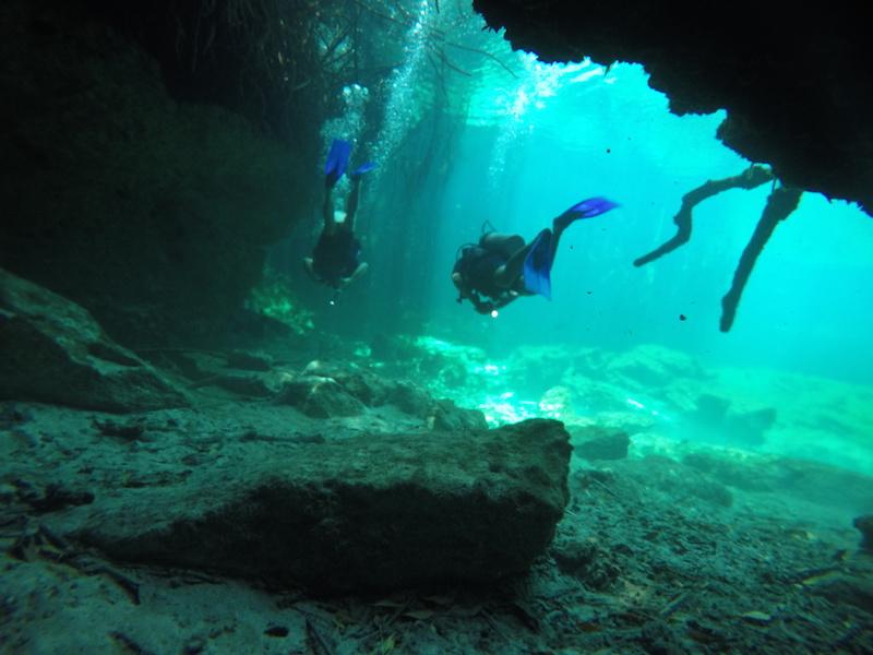 cenotes du Yucatan