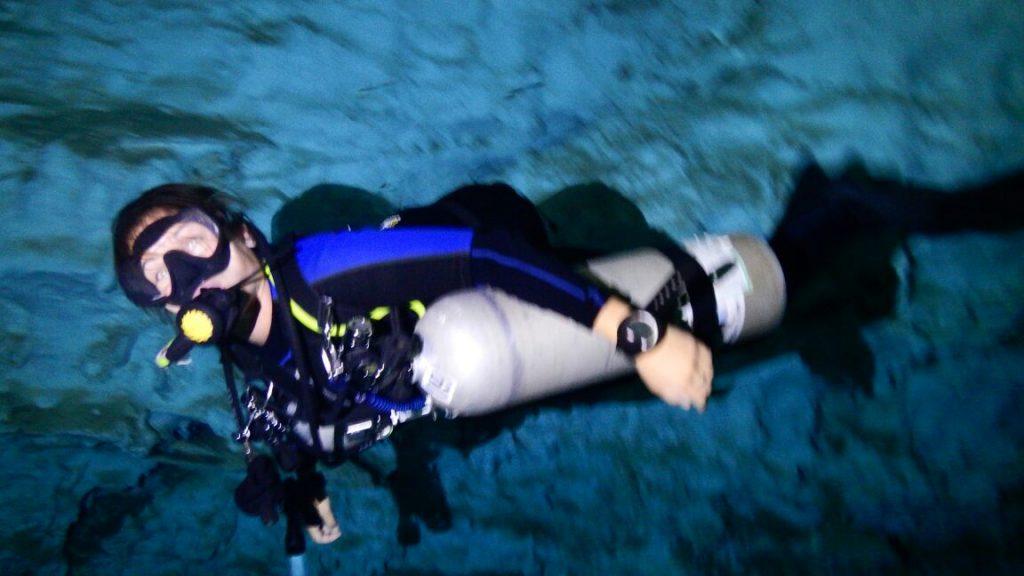 plongée sidemount en cenote