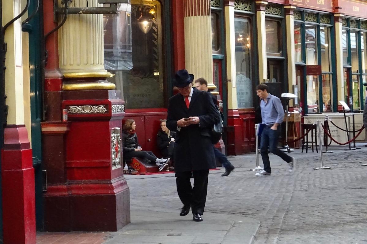 britannique - la city - Londres