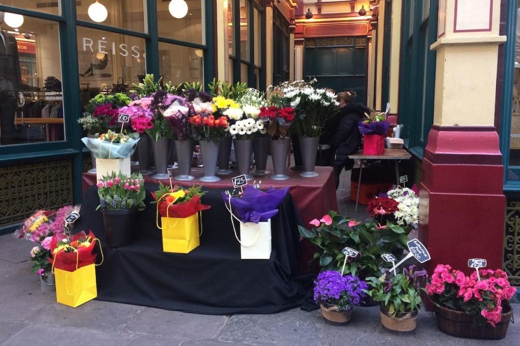 Fleurs - la city - Londres