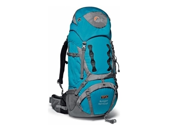 sac à dos Lowe Alpine Kongur 55 litres