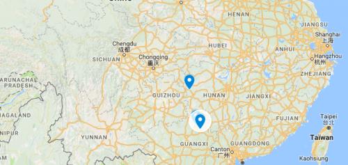 Fenghuang, guilin et Xingping