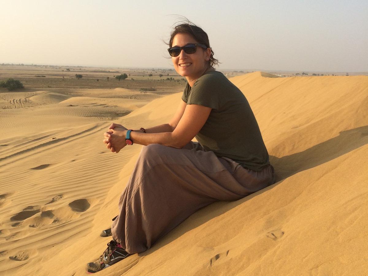 dans le desert à Jaislame, Inde