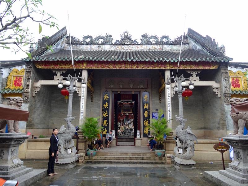 Temple de Hoi An au Vietnam