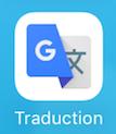Application Google traduction