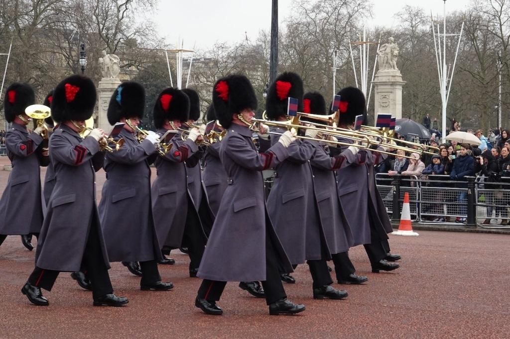 La relève de la Garde - Londres