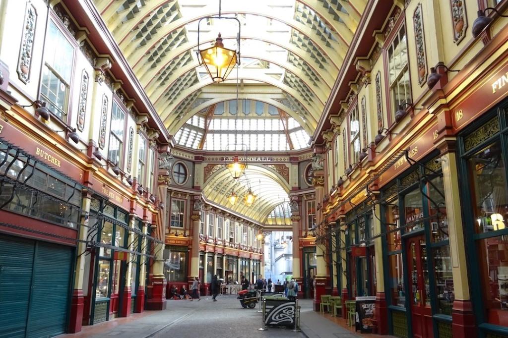 Passage couvert - La City - Londres