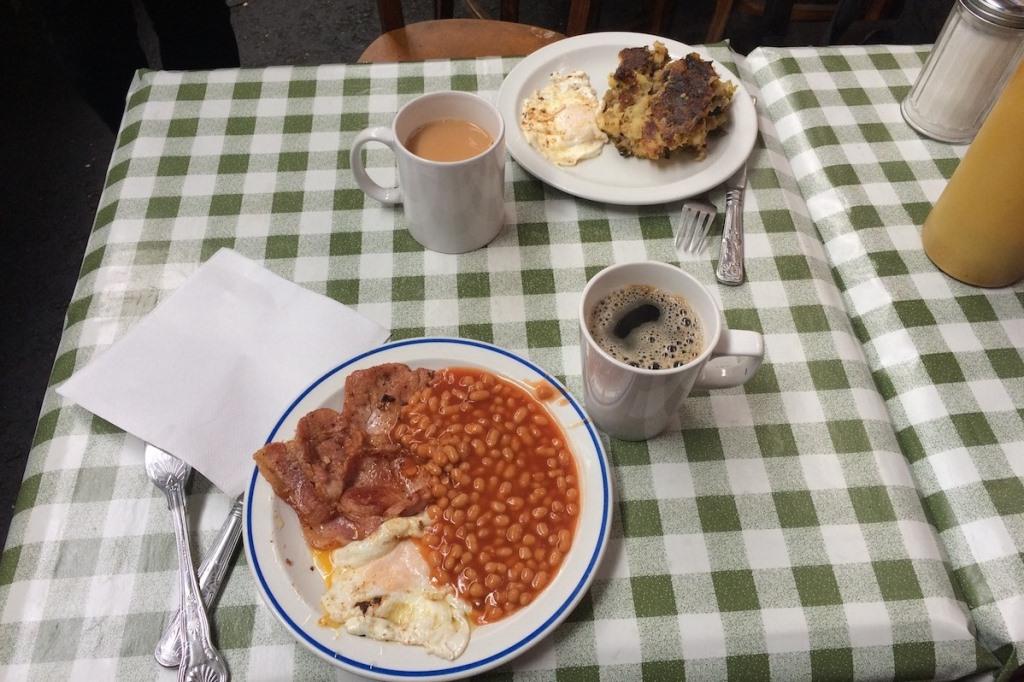 English Breakfast - petit déjeuner anglais - Londres