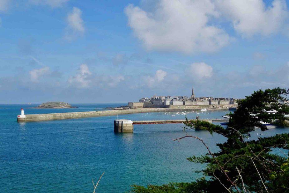 Saint Malo depuis la Cité d'Alet